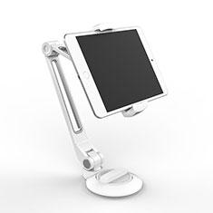 Huawei MediaPad M5 8.4 SHT-AL09 SHT-W09用スタンドタイプのタブレット クリップ式 フレキシブル仕様 H04 ファーウェイ ホワイト
