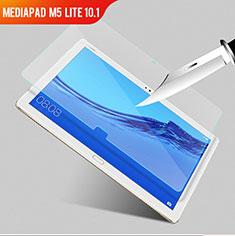 Huawei MediaPad M5 Lite 10.1用強化ガラス 液晶保護フィルム T01 ファーウェイ クリア