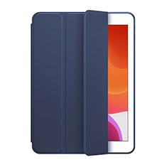 Huawei MediaPad M6 8.4用手帳型 レザーケース スタンド カバー L02 ファーウェイ ネイビー