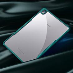 Huawei MediaPad M6 8.4用ハイブリットバンパーケース クリア透明 プラスチック 鏡面 カバー ファーウェイ シアン