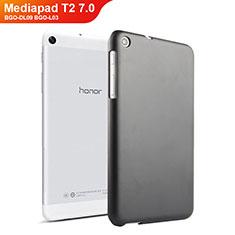 Huawei Mediapad T2 7.0 BGO-DL09 BGO-L03用ハードケース プラスチック 質感もマット ファーウェイ ブラック