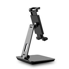 Huawei Mediapad T2 7.0 BGO-DL09 BGO-L03用スタンドタイプのタブレット クリップ式 フレキシブル仕様 K06 ファーウェイ ブラック