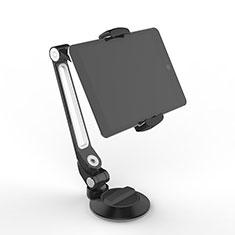 Huawei MediaPad T2 Pro 7.0 PLE-703L用スタンドタイプのタブレット クリップ式 フレキシブル仕様 H12 ファーウェイ ブラック
