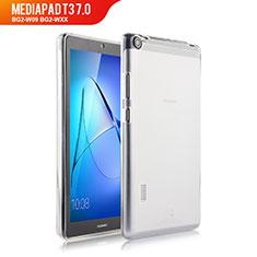 Huawei MediaPad T3 7.0 BG2-W09 BG2-WXX用極薄ソフトケース シリコンケース 耐衝撃 全面保護 クリア透明 カバー ファーウェイ クリア