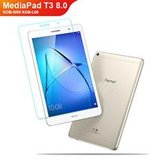 Huawei MediaPad T3 8.0 KOB-W09 KOB-L09用強化ガラス 液晶保護フィルム ファーウェイ クリア