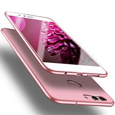 Huawei Nova 2 Plus用極薄ソフトケース シリコンケース 耐衝撃 全面保護 S03 ファーウェイ ピンク