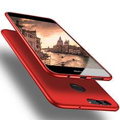 Huawei Nova 2 Plus用極薄ソフトケース シリコンケース 耐衝撃 全面保護 S03 ファーウェイ レッド