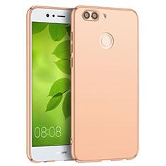 Huawei Nova 2 Plus用ハードケース プラスチック 質感もマット Q04 ファーウェイ ゴールド