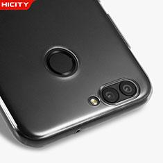 Huawei Nova 2 Plus用極薄ソフトケース シリコンケース 耐衝撃 全面保護 クリア透明 T05 ファーウェイ クリア