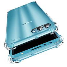 Huawei Nova 2S用極薄ソフトケース シリコンケース 耐衝撃 全面保護 クリア透明 カバー ファーウェイ クリア