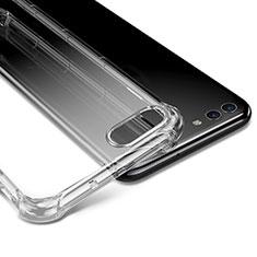 Huawei Nova 2S用極薄ソフトケース シリコンケース 耐衝撃 全面保護 クリア透明 T04 ファーウェイ クリア