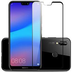 Huawei Nova 3用強化ガラス フル液晶保護フィルム ファーウェイ ブラック