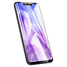Huawei Nova 3用強化ガラス フル液晶保護フィルム F02 ファーウェイ ブラック