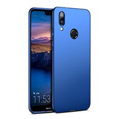 Huawei Nova 3e用ハードケース プラスチック 質感もマット ファーウェイ ネイビー