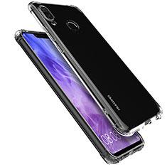 Huawei Nova 3i用極薄ソフトケース シリコンケース 耐衝撃 全面保護 クリア透明 T05 ファーウェイ クリア