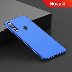 Huawei Nova 4用ハードケース プラスチック 質感もマット ファーウェイ ネイビー