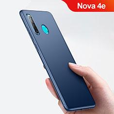 Huawei Nova 4e用極薄ソフトケース シリコンケース 耐衝撃 全面保護 ファーウェイ ネイビー