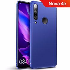 Huawei Nova 4e用極薄ソフトケース シリコンケース 耐衝撃 全面保護 S03 ファーウェイ ネイビー