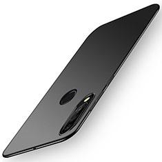 Huawei Nova 4e用ハードケース プラスチック 質感もマット カバー P02 ファーウェイ ブラック