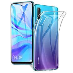 Huawei Nova 4e用極薄ソフトケース シリコンケース 耐衝撃 全面保護 クリア透明 K01 ファーウェイ クリア