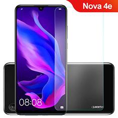 Huawei Nova 4e用強化ガラス 液晶保護フィルム ファーウェイ クリア