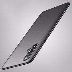 Huawei Nova 5用ハードケース プラスチック 質感もマット カバー P02 ファーウェイ ブラック