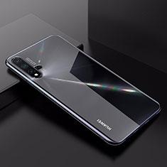 Huawei Nova 5用極薄ソフトケース シリコンケース 耐衝撃 全面保護 クリア透明 カバー ファーウェイ クリア