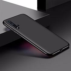 Huawei Nova 5用極薄ソフトケース シリコンケース 耐衝撃 全面保護 ファーウェイ ブラック