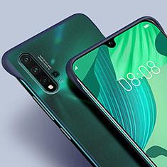 Huawei Nova 5用極薄ケース クリア透明 プラスチック 質感もマットU01 ファーウェイ ネイビー