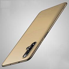 Huawei Nova 5用ハードケース プラスチック 質感もマット M01 ファーウェイ ゴールド
