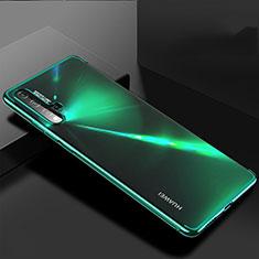 Huawei Nova 5用極薄ソフトケース シリコンケース 耐衝撃 全面保護 クリア透明 H03 ファーウェイ グリーン
