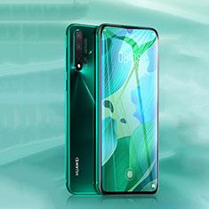 Huawei Nova 5用強化ガラス フル液晶保護フィルム ファーウェイ ブラック