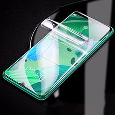Huawei Nova 5i用高光沢 液晶保護フィルム フルカバレッジ画面 ファーウェイ クリア