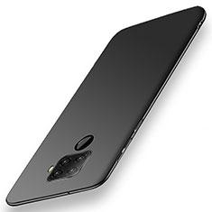 Huawei Nova 5i Pro用ハードケース プラスチック 質感もマット カバー M02 ファーウェイ ブラック