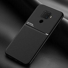 Huawei Nova 5i Pro用360度 フルカバー極薄ソフトケース シリコンケース 耐衝撃 全面保護 バンパー S01 ファーウェイ ブラック