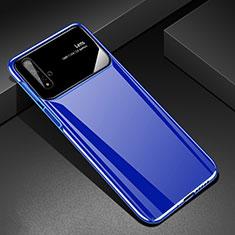 Huawei Nova 5T用ハードケース プラスチック 質感もマット M01 ファーウェイ ネイビー