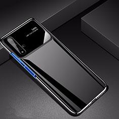 Huawei Nova 5T用ハードケース プラスチック 質感もマット M01 ファーウェイ ブラック