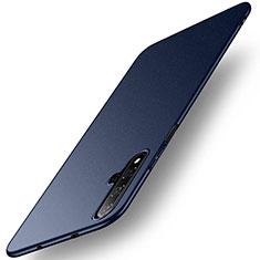Huawei Nova 5T用ハードケース プラスチック 質感もマット M02 ファーウェイ ネイビー