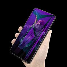 Huawei Nova 5T用アンチグレア ブルーライト 強化ガラス 液晶保護フィルム ファーウェイ クリア