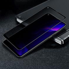 Huawei Nova 5z用反スパイ 強化ガラス 液晶保護フィルム M02 ファーウェイ クリア