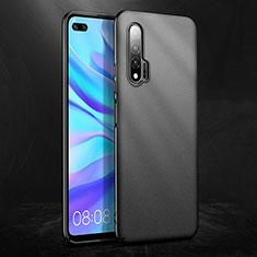 Huawei Nova 6 5G用ハードケース プラスチック 質感もマット ファーウェイ ブラック