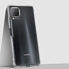Huawei Nova 6 SE用極薄ソフトケース シリコンケース 耐衝撃 全面保護 クリア透明 K01 ファーウェイ クリア