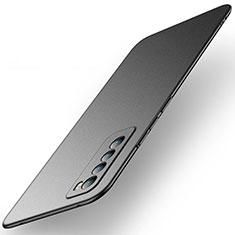 Huawei Nova 7 5G用ハードケース プラスチック 質感もマット カバー M01 ファーウェイ ブラック