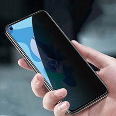 Huawei Nova 7 5G用反スパイ 強化ガラス 液晶保護フィルム M05 ファーウェイ クリア