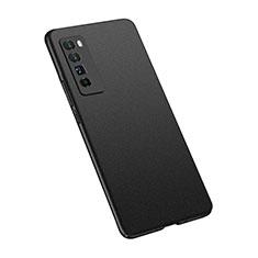 Huawei Nova 7 Pro 5G用ハードケース プラスチック 質感もマット カバー M02 ファーウェイ ブラック