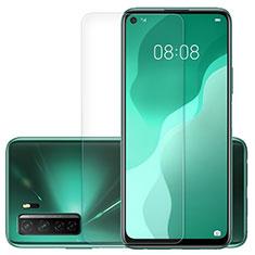 Huawei Nova 7 SE 5G用強化ガラス 液晶保護フィルム K01 ファーウェイ クリア