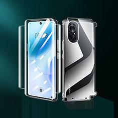 Huawei Nova 8 5G用高光沢 液晶保護フィルム 背面保護フィルム同梱 ファーウェイ クリア