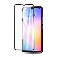 Huawei Nova 8 SE 5G用強化ガラス フル液晶保護フィルム ファーウェイ ブラック