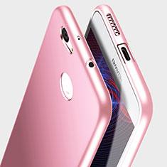 Huawei Nova用極薄ソフトケース シリコンケース 耐衝撃 全面保護 S03 ファーウェイ ピンク
