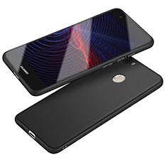 Huawei Nova用極薄ソフトケース シリコンケース 耐衝撃 全面保護 S04 ファーウェイ ブラック
